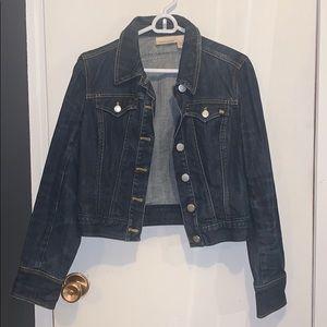 Dark wash jeans jacket